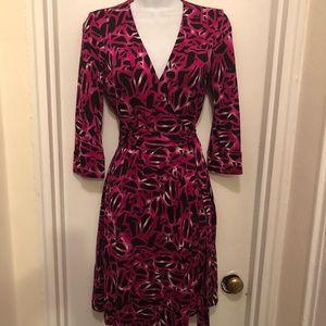 Diane von Furstenberg Julian wrap dress size 4